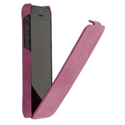 Borofone для iPhone 5 - General flip Leather Case Rose Red