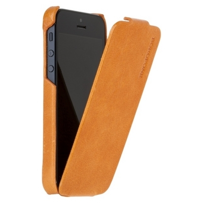 Borofone для iPhone 5 - General flip Leather Case Orange