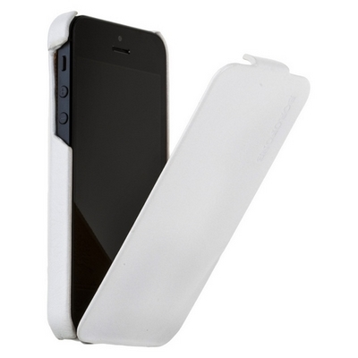 Borofone для iPhone 5 - General flip Leather Case White