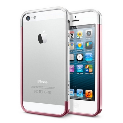 SGP для iPhone 5 - Metal Crystal Pink