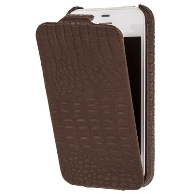 Borofone iPhone 4s, 4 - Crocodile Brown