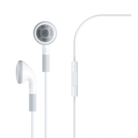 Apple Earphones with Remote and Mic - оригинал