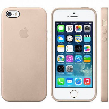 Apple iPhone 5S Case - Beige