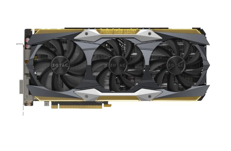 Zotac geforce gtx1080ti Amp! Extreme Core Edition 11gb