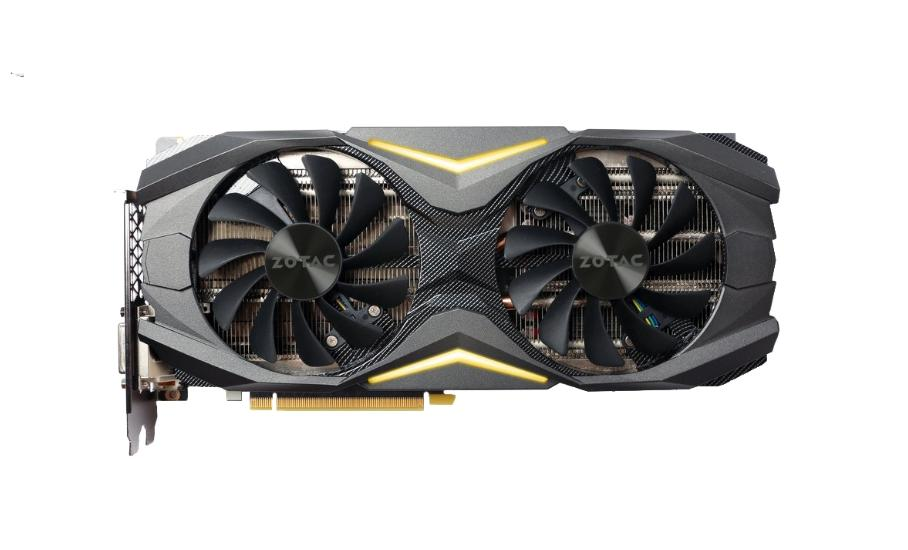 Zotac GeForce gtx1080 AMP Edition 8gb