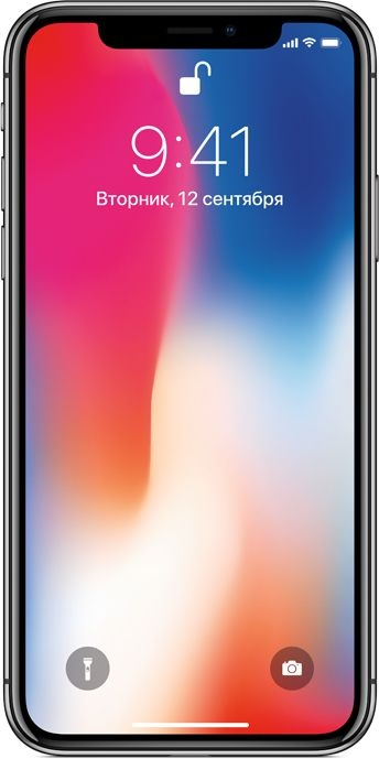 iPhone X 256Gb Space Grey - АКЦИЯ! Дарим скидку 1000р.*