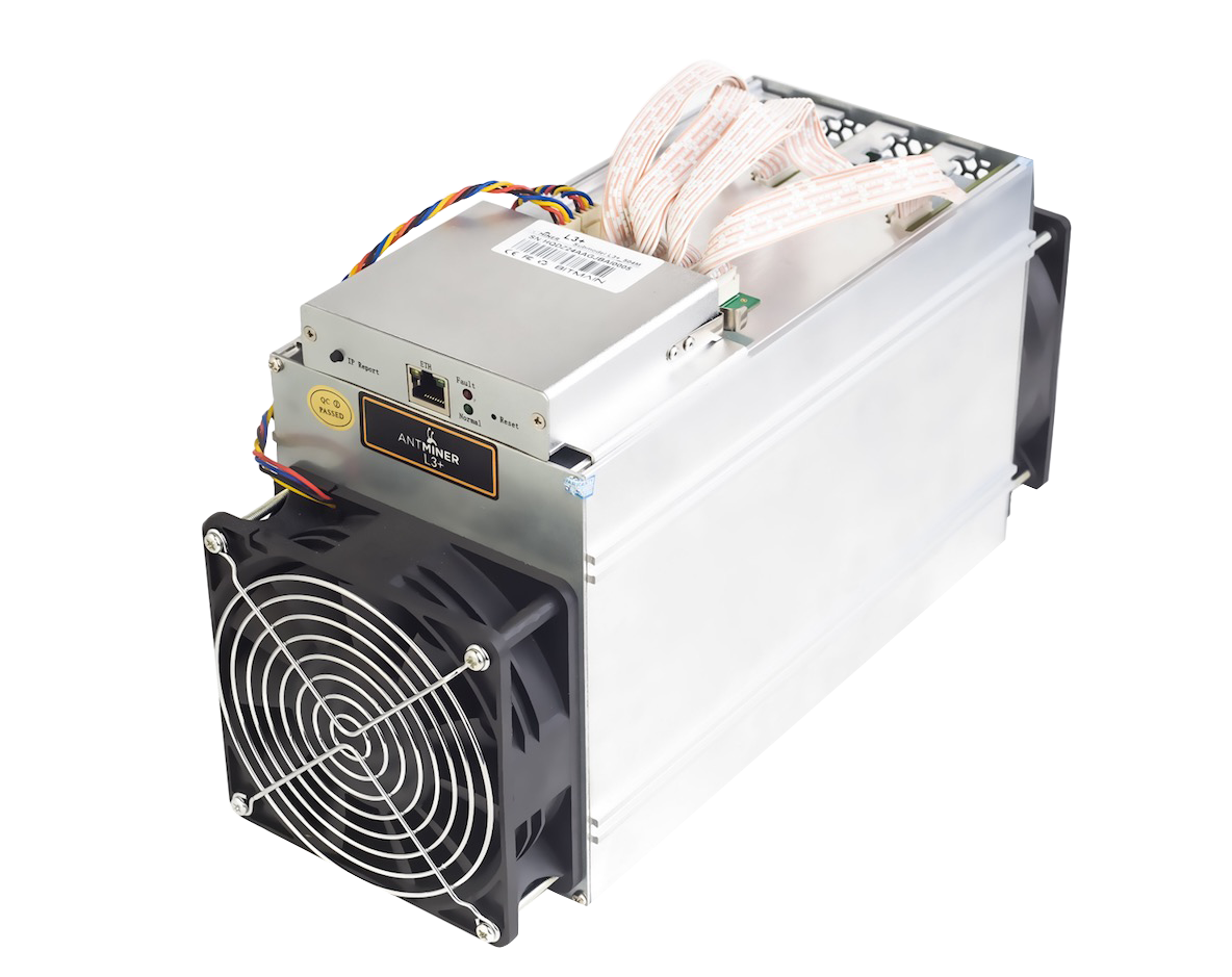 Antminer L3++, 580MH/s (Scrypt)